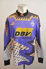 1993/94 Werder Bremen Trikot Gr L Puma DBV Torwart RAR langarm vintage Supercup