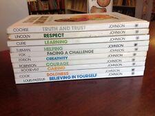 Lot of 10 VALUETALES books ALL HC Ann Donegan Johnson homeschool values L2