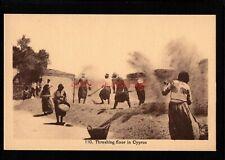 More details for cyprus greece threshing floor peasants at work avedissian bros pc e20c - gr60