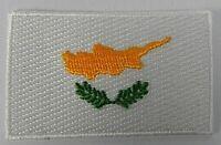 Zypern Aufnäher gestickt,Flagge Fahne,Patch,Aufbügler,6,5cm,neu