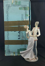 More details for lladro figurine 5398 the ball / cinderella & prince boxed