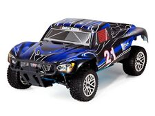1:10 Vortex SS RC Nitro Powered Desert Truck 4WD 2.4GHz Remote Control Blue New