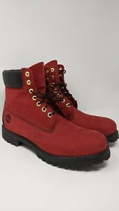 Limited Release Red Timberland Boots NEW MENS 11