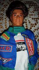 Muñeca Barbie Novio Ken Jewell pelo arraigado secretos 1986 Vintage Benetton Sport