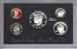 1992-S U.S. Silver Proof Set - Original Packaging/COA