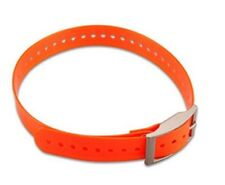 Garmin  Compatible 1-Inch Dog Collar with Square Buckle ,Orange