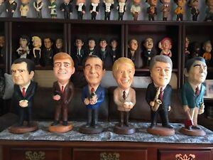 Esco Chalkware Statues 6 Presidents