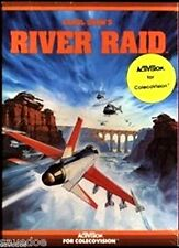 River Raid ColecoVision Video Game System~VINTAGE STILL NEW Mint State-63 RARE!