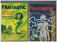 Fantastic Science Fiction Magazine Lot of 8 1964 Philip K Dick Fritz Leiber