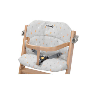 Safety 1st Timba Baby Soft Seat Cushion for Wooden High Chair - Grey