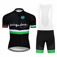 Cycling Jersey 2021 Men's Summer Bike Team Short Sleeve Tops Bib Shorts Set Kits