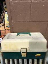 Vintage 3 Tray Model Plastic Tackle Box Full Of Tackle / Lures