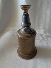 lampe a huile pigeon transforme en lampe