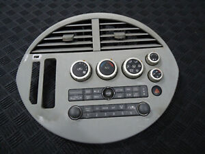 2004 NISSAN QUEST S DASH CLIMATE CONTROL RADIO BEZEL
