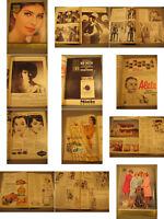 Film und Frau Zeitschrift von 1963-3.Zeitgeist,Mode Werbung.Hollywood