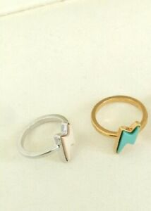 Marc by Marc Jacobs Grab & Go Debbies Lightning Bolt Ring Size O/ 7 RRP $48.00