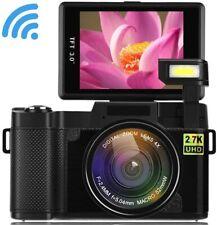 Digital Video Camera Seree 4X with WiFi 2.7K Ultra HD 24MP Flip Screen