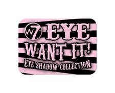 W7 MakeUp - Eye Want It - Eye Shadow Collection, 9 Eyeshadow Colours