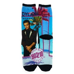 New BEVERLY HILLS 90210 Ladies FOREVER DYLAN Novelty Crew Socks Oooh Yeah Brand