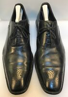 To Boot New York Men 13 D / M Oxfords Shoes Black Leather Rubber Sole Italy Made
