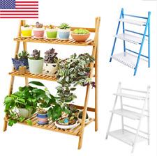 3 Tier Flower Pot Plant Stand Flower Planter Rack Shelf Shelves Organizer Garden