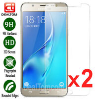 2X Tempered Glass Film Screen Protector For Samsung Galaxy J5 J7 J3 A5 A8 S7 S6