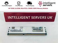 HP 32GB (1x32GB) 4Rx4 PC3L-10600L DDR3 Memory Module - 647885-B21