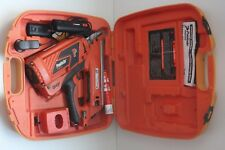Paslode Impulse Framing Nailer 30 Degree FrameMaster Batteries Charger Case