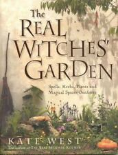 Real Witches Garden by Kate West (2004, Paperback)