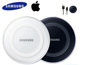 SAMSUNG & IPHONE Wireless Fast Charger Adapter Qi Charge Pad