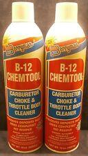 Berryman (0117C) B-12 Chemtool Carburetor Choke and Throttle Body Cleaner 2 Pack