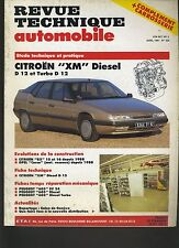(9B)REVUE TECHNIQUE AUTOMOBILE CITROEN XM DIESEL / BX/ OPEL CORSA