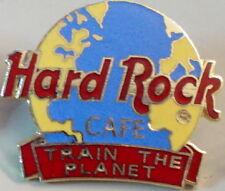 "Hard Rock Cafe STAFF PIN ""Train the Planet"" Globe Logo  - HRC Catalog #31763"