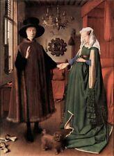 A3 Box Canvas Arnolfini Wedding Jan Van Eyck