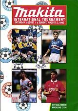 01./02.08.1992 Leeds United, VfB Stuttgart, Nottingham Forest, Sampdoria Genua
