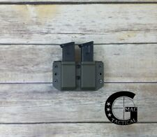 Sig Sauer P229 9/40 Kydex Double Mag Pouch Outside Waistband OD Green AMBIDEX