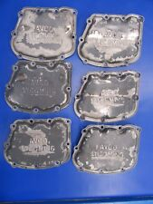 Lycoming Rocker Covers 540/720 P/N 72242 LOT OF 6 (1017-37)