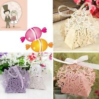 Butterfly Ribbon Gift Candy Paper Box Wedding Party Favor Paper Bag  FAJC3C