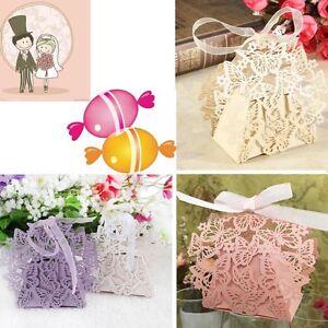 Butterfly Ribbon Gift Candy Paper Box Wedding Party Favor Paper Bag  FAJCA Jz