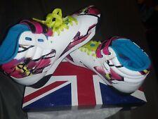 Women's Reebok Classic F/S HI training shoes white/Blk/Hot lips size 6.5