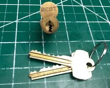 Best Original 7 pin Lock Cylinder - 606 TD - Locksmith SFIC Core w/ Keys Padlock