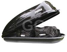 Thule Ocean 80 Car Roof Top Box 320 Litre Gloss Black Rear Opening