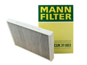 MANN Cabin Air Filter CUK 31 003 For Audi A4 Allroad A5 Quattro S5 SQ5 Q5 Q7 Q8