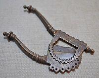 Original Old Antique Hand Crafted Engraved Brass Betel Nut Cutter Sarota