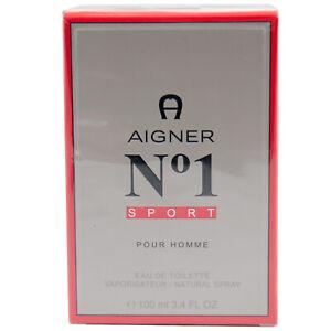 Aigner No1 Sport pour Homme 100 ML Eau de Toilette Spray Pour Homme