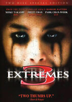 3 Extremes (Three Extremes) (2 Disc, Special Edition) DVD NEW