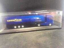 Goodyear Herpe Volvo Diecast Truck 267083 FH12 GL Box Semi Trailer 1:87 HO Scale