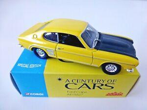 Ford Capri AEX5527 1969 solido 1:43 corgi hachette special edition new in box