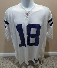 Indianapolis Colts Peyton Manning #18 Reebok NFL White Jersey Size XL