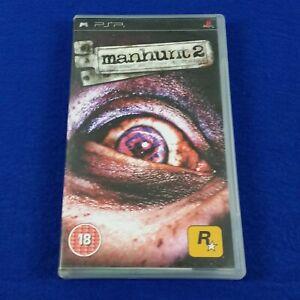 psp MANHUNT 2 A Survival Horror Game Playstation REGION FREE PAL Version
